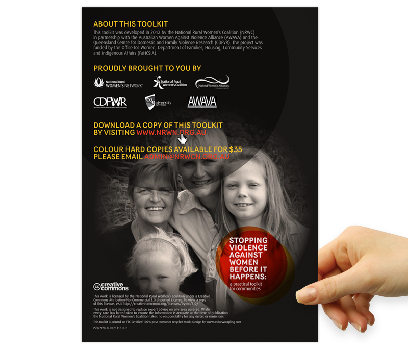 National Rural Women's Network – Family Violence Prevention Toolkit Design