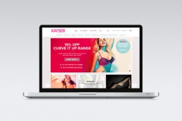 Kayser Lingerie Website Design