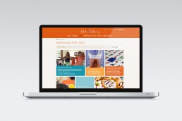 A Taste of Harmony Website Design