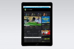 AFL & NRL Website Design