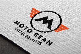 Moto Bean Coffee Roasters Logo Design