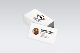 Moto Bean Coffee Roasters Business Card